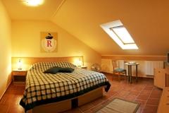 panzió szoba franciaágyas