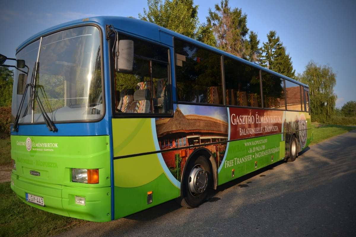 Rádpuszta busz